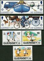 GUERNESEY N° 419/22+451/3 NEUFS**
