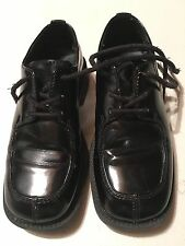 Boys Youth TUXEDO Dress Shoes Formal Black Patent 13m