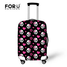 """Skull Designs Travel Accessories Elastic Dust proof Luggage Cover 22 24 26 28"""""""
