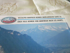 Alpenbahnen Westalpen K 24 Montreux BOB Montreux Les Avants