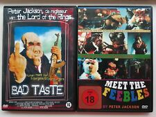 Bad Taste/ Meet the Feebles (2x DVD bundle) Peter Jackson, Dutch/German imports