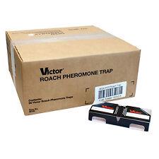 Victor Roach Pheromone Traps (96 traps) Cockroach Traps German Roach Traps M330