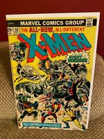 X-Men #96 FN- 1st Moira MacTaggert Appearance Wolverine Dave Cockrum Key Issue