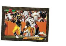 1992 BOWMAN FOIL ROBERT DELPINO (Rams)