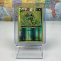SHIPS SAME DAY Pokemon Card Caterpie Reverse Holo 3/108 Basic Grass Type 2016