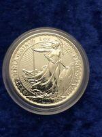 2018 1oz .999 fine silver Britannia coin £2 bullion BU