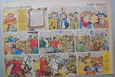 Lone Ranger Sunday Page by Fran Striker and Charles Flanders from 4/16/1939