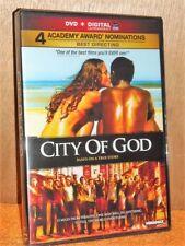 City Of God (DVD, 2002) NEW Alexandre Rodrigues Brazilian cult classic action