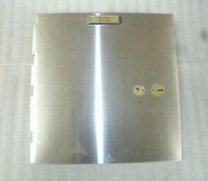Vintage Diebold Safe Deposit Box Door with 17570 b Lock-No Keys-USED-LOCKSMITH