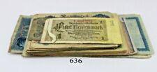68 St Banknoten Scheine Inflation Posten Konvolut Geldscheine RO. Mark old Bill