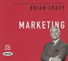 Marketing : The Brian Tracy Success Library by Brian Tracy (2015, CD,...