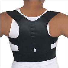 Adjustable Magnetic Posture Corrector Back Support Shoulder Brace Belt Men Women