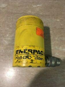 """Enerpac RCH202 20-ton x 2"""" Stroke Hollow Hydraulic Cylinder.  USED"""