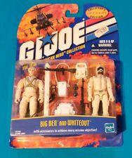 2000 GI Joe vs. Cobra Real American Hero Collection Whiteout and Big Ben MOC