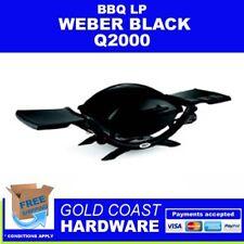 Weber Q2000 LPG BBQ - Black