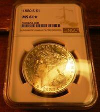 1880-S Morgan  Dollar  NGC  MS-61*