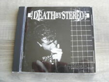hardcore CD punk DEATH BY STEREO If Looks Could Kill Id Watch You Die USA IMPORT