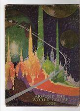 "CANADIAN PACIFIC ""EMPRESS OF FRANCE"" 1925 World Cruise Brochure/Folder (C20827)"
