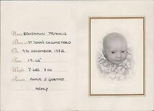 Benjamin Francis Healy. St John's Chelmsford, 9th December 1952   (JC.359)