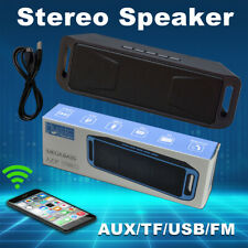 Outdoor Portable Rechargeable Bluetooth Wireless Speaker with AUX,USB,FM Radio