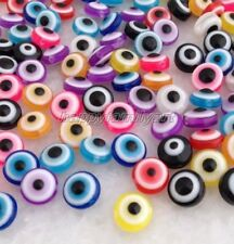 100 Pcs Mixed Colors Resin Button Beads Fit Sewing and Scrapbooking 10mm Yrb004