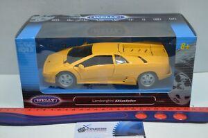 1:24 Scale Lamborghini Diablo Yellow #29374W Welly Collection Diecast Model car