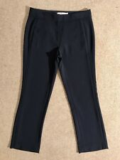 TORY BURCH navy blue straight leg ankle crop trouser US 0 / UK 4 Immaculate £325