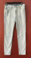 Joes Jeans 27 The High Water Skinny Light Acid Wash Denim Mid Rise Stretch