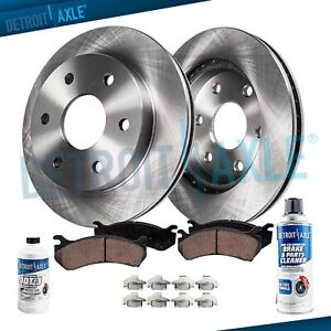 Rear Brake Rotors Pads for 1998-2004 Isuzu RODEO 4WD; RR Disc Brakes;