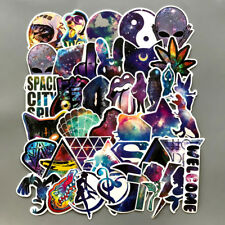 Us Seller- 42 space galaxy vinyl sticker family car skateboard sticker lot