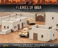Flames of War Battlefield in a Box BNIB Small Desert Houses BB222