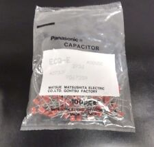 Panasonic ECQ-E Metal Polyester Film Capacitors Bag Of 100