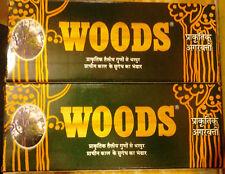 WOODS NATURAL INCENSE STICKS: AGARBATHI PACK OF 2 x 36 STICKS