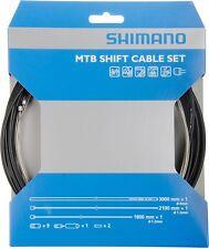 Shimano Set de tren de conmutación MTB acero inox. Cable de cambio