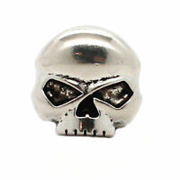"""Skull Nickel Decorative Concho Snap Cap 3/4""""1265-995"""