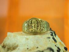 Ring Yantra Nang Kwak Goddess Talisman LP Im Lucky Money Rich Charm Thai Amulet