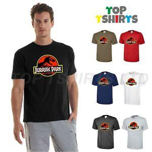 JURASSIC PARK Men's Fan Dinosaur Film Steven Spielberg Raptor T-Shirt Tee Top