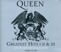 Queen - Greatest Hits I II & III The Platinum Collection [CD]