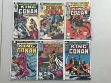 Lot of 13 Conan the King (1980) #1-3 5-8 10 11 13 17 19 28 FN Fine