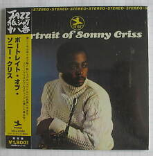 SONNY CRISS - Portrait Of Sonny Criss JAPAN MINI LP CD NEU! VICJ-41555 SEALED