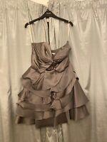 karen millen grey dress 12 Only Worn Once