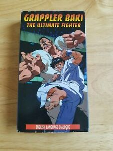 Grappler Baki The Ultimate Fighter VHS RENTAL BUT VERY GOOD CONDITION