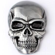 Vintage Skull Men's Belt Buckle Western Cowboy Native American (SK-01)