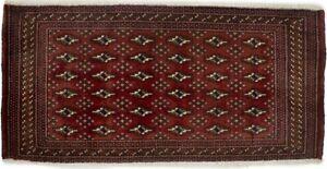 Handmade Tribal Geometric 2X4 Small Entryway Oriental Rug Kitchen Decor Carpet