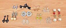 *Lot of 11* Clip/Stud/Dangle Women's Fashion Accessory Vintage Style Earrings!