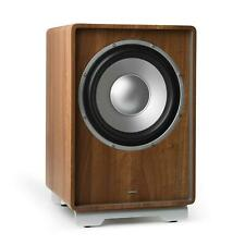 """Subwoofer Activo 10"""" Sistema de Sonido Home Cinema Amplificador Integrado 25,4cm"""