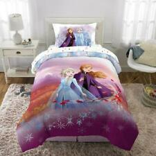 Disney's Frozen 2 Kids Bed in a Bag Bedding Set Reversible Comforter, Spirit