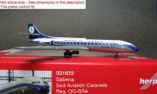 Herpa 1/500 Sabena Caravelle OO-SRA #531672 Diecast model plane