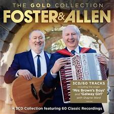 FOSTER AND ALLEN THE GOLD COLLECTION 3 CD NEW
