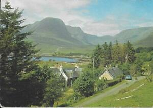 Applecross Mountains from Kishorn village, Ross-shire- Used not posted Postcard